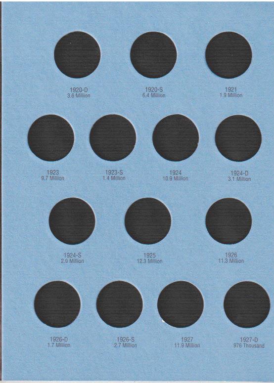 Whitman Liberty Standing Quarter Coin Folder 6x7.75 - 21984