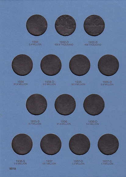 Whitman Washington Quarter #1 Coin Folder 6x7.75 - 21992