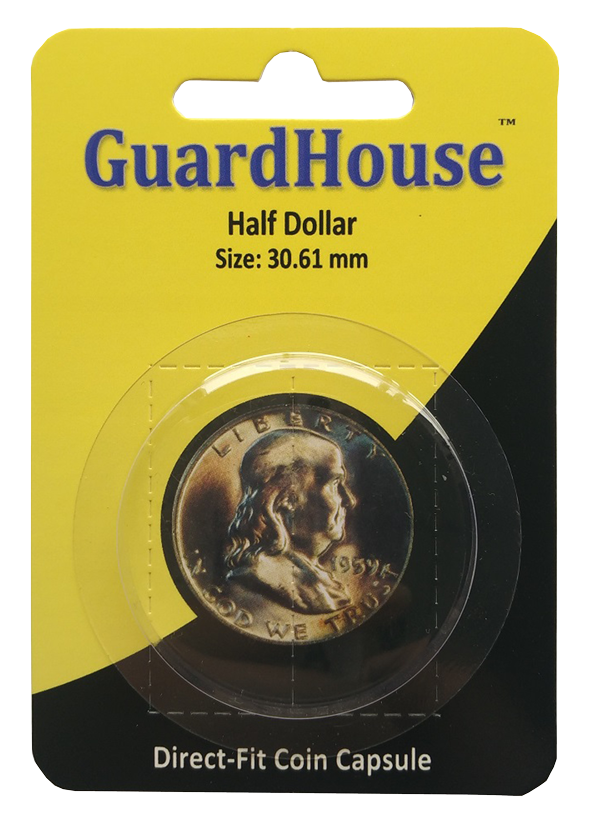 Half Dollar Direct Fit Guardhouse Capsule - Retail Card