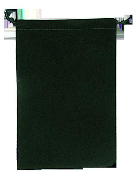 Velvet Drawstring Pouch - 5x7.5 Green