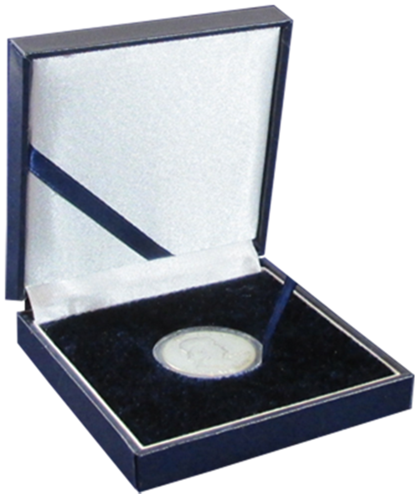 Guardhouse Leatherette Medium Coin Display Box