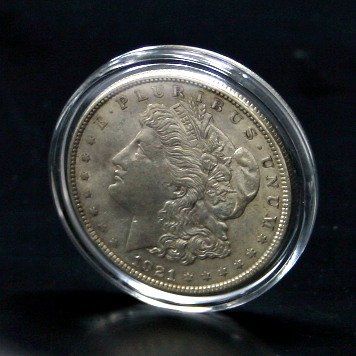 50 Direct-Fit Airtight H38 Coin Capsules Holders For MORGAN IKE DOLLAR PEACE