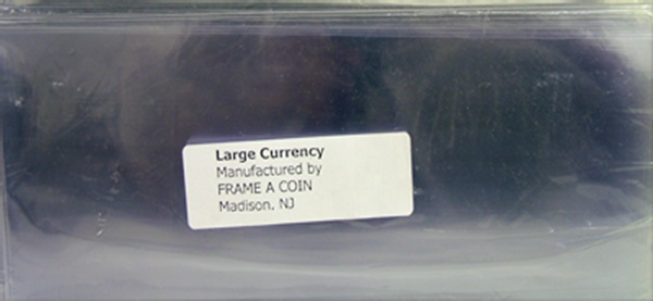 Frame A Coin Large Archival Currency Sleeves