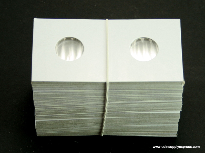 Guardhouse 2x2 Nickel Staple Paper Coin Holders