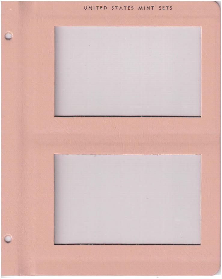 U.S. Mint Sets - Dansco Coin Album 7092 - 24056