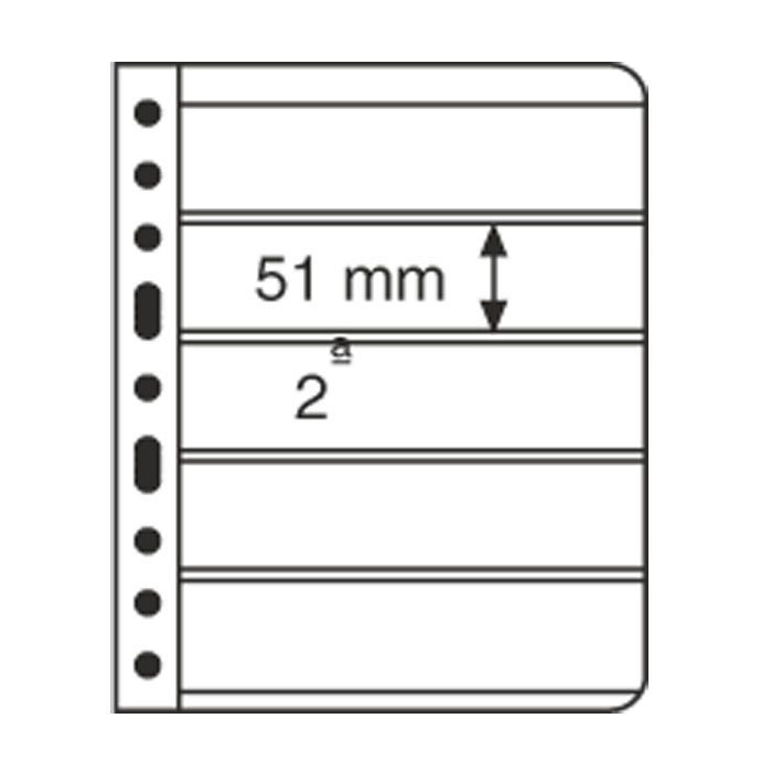 Vario 5C Five-Pocket Pages Clear
