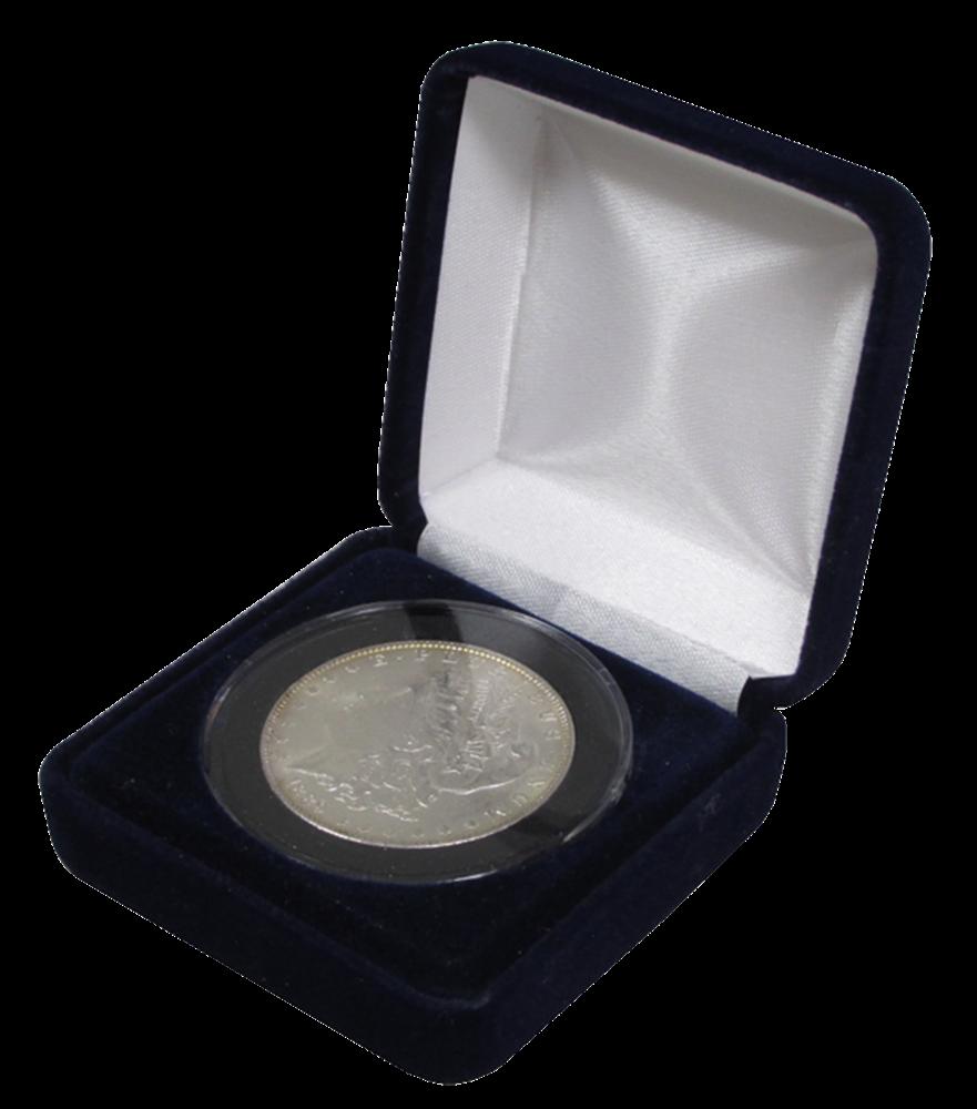 Velvet Coin Box for X-Large Capsules