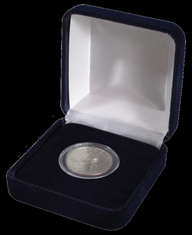 Velvet Coin Box for Small Capsules
