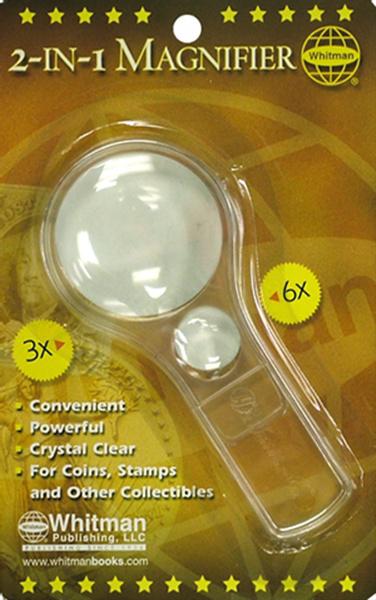 Whitman 3x 6x 2-in-1 Magnifier