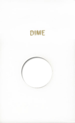 Dime Capital Plastics Coin Holder Caps White 2x3 Dime Capital Plastics Coin Holder Caps White, Capital, Caps