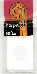 Standing Liberty Quarter Capital Plastics Coin Holder Caps White 2x3 Standing Liberty Quarter Capital Plastics Coin Holder Caps White, Capital, Caps