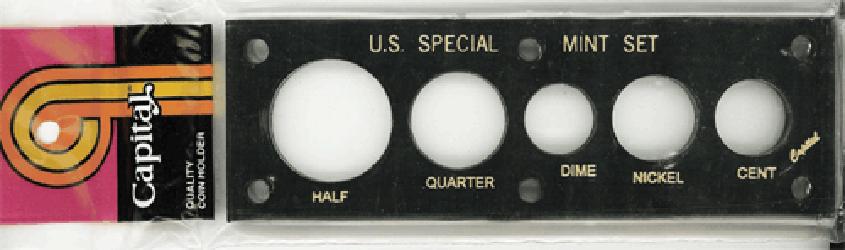 US Special Mint Set  Capital Plastics Black 2x6 US Special Mint Set  Capital Plastics Black, Capital, 11C Black