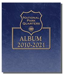 Single Mint National Parks Quarters Whitman Album