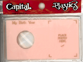 My Birth Year Silver Eagle / Photo Capital Plastics Coin Holder Pink Meteor My Birth Year Silver Eagle / Photo Capital Plastics Coin Holder Pink, Capital, MA32XBY