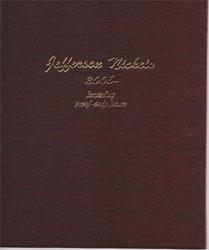 Jefferson Nickels Dansco Coin Album with Proofs