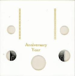 Anniversary Year Capital Plastics Coin Holder White Galaxy Galaxy Anniversary Year Capital Plastics Coin Holder White Galaxy, Capital, GA5AY