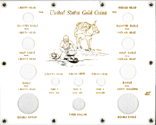 U.S. Gold Type Set  8x10