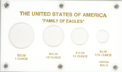 U.S. Gold Eagles  3.5x6 U.S. Gold Eagles , Capital, 434G