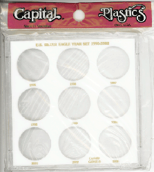 U.S. Silver Eagle Year Set 1995-2003 Galaxy U.S. Silver Eagle Year Set 1995-2003, Capital, GX9SEB