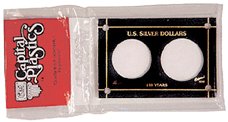 U.S. Silver Dollars  3x4.5 U.S. Silver Dollars , Capital, 345
