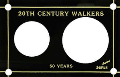 20th Century Walker  3x4.5 20th Century Walker , Capital, 345WS