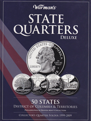 Warmans State Quarters Deluxe Folder