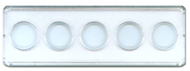 Nickel 5 Hole Mint or Proof Set Holder Whitman 2x6 Nickel 5 Hole Mint or Proof Set Holder Whitman, Whitman, 0794819680