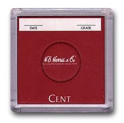 Cent 2x2 Snaplock Coin Holder HE Harris Bulk Box 2x2
