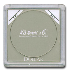 HE Harris Large Dollar 2x2 Snaplock Coin Holder 25 Pcs