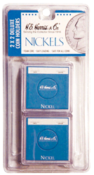Nickel 2x2 Snaplock Coin Holder HE Harris Retail Pack 2x2