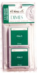 Dime 2x2 Snaplock Coin Holder HE Harris Retail Pack 2x2