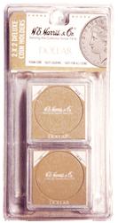 Large Dollar 2x2 Snaplock Coin Holder HE Harris Retail Pack 2x2