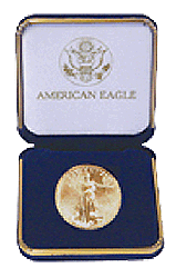 US Mint Gold Eagle Presentation Box 1 Ounce