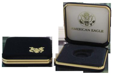 US Mint Gold Eagle Presentation Box 1 Ounce