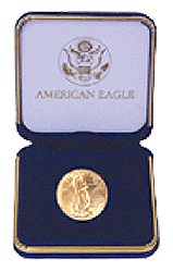 US Mint Gold Eagle Presentation Box 1/2 Ounce
