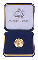 Gold Eagle Presentation Box 1/4 Ounce