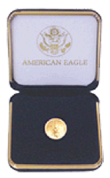 US Mint Gold Eagle Presentation Box 1/10 Ounce