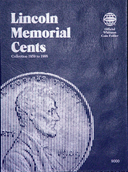 Whitman Coin Folder - Lincoln Memorial Cents 1959 - 1998