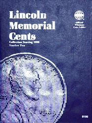 Lincoln Memorial Cent Coin Folder 1999 - 2008