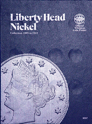 Liberty Head Nickels Coin Folder 1883 - 1912