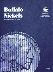 Buffalo Nickels Coin Folder 1913 - 1938