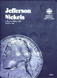Jefferson Nickels Coin Folder 1938 - 1961