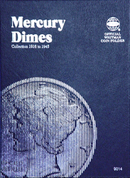 Mercury Dimes Coin Folder 1916 - 1945
