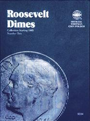 Roosevelt Dimes Coin Folder 1965 - 2004