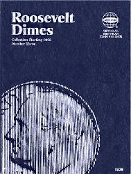 Roosevelt Dimes Coin Folder 2005 - 2023