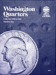 Whitman Washington Quarters Coin Folder 1948 - 1964
