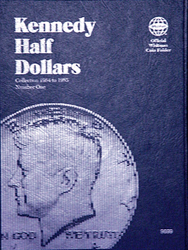 Whitman Kennedy Half Dollar Coin Folder 1964 - 1985