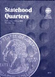 Whitman Statehood Quarters Coin Folder 2002 - 2005