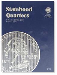 Whitman Statehood Quarters Coin Folder 2006 - 2009