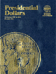 Presidential Dollar Folder Whitman Volume I 6x7.75 Presidential Dollar Folder Whitman Volume I, Whitman, 0794821812